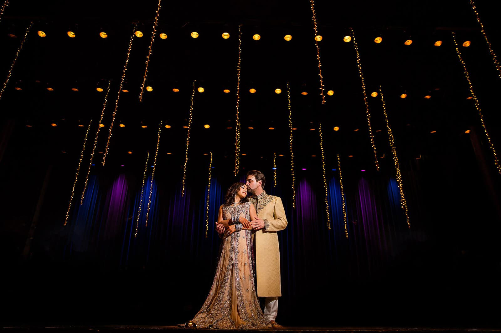 The Fabulous Fox Theater Pakistani Wedding Photographer