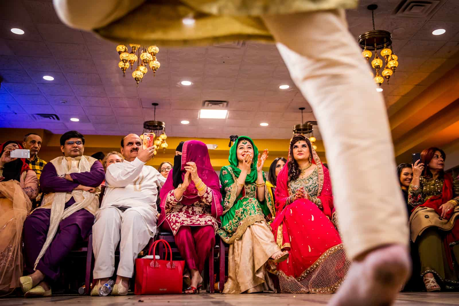 Indian Wedding Photographer St. Louis Sangeet Dancing